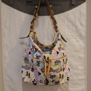 📌 Dooney and Bourke Disney Sketch Pocket Satchel